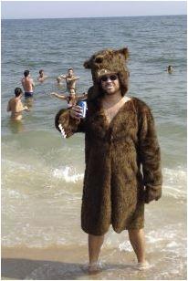 Grizcoat - bjørnefrakk