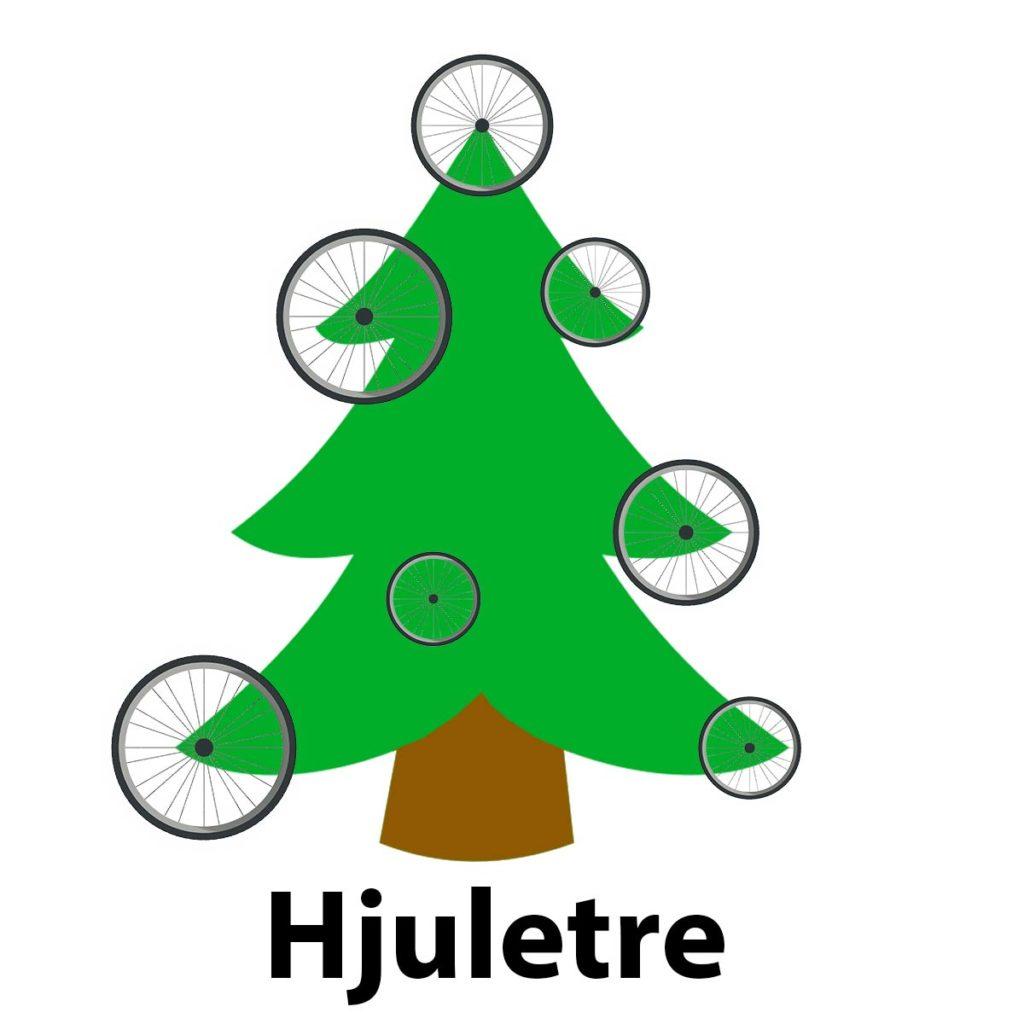 Pappavitser hjuletre juletre tørr vits